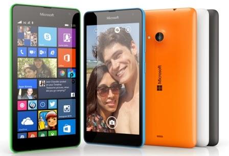 Microsoft resmi perkenalkan Lumia 535 dengan harga 1,6 juta-an