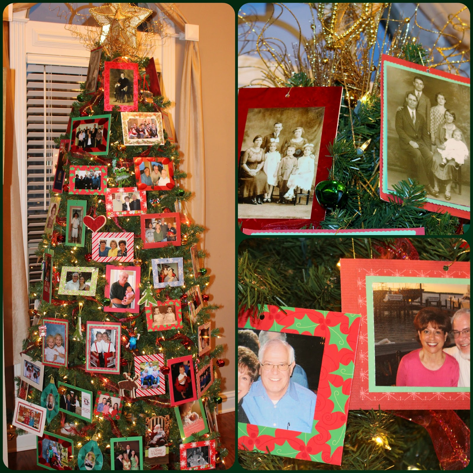 Hallmark family tree ornaments - It Is A Revolving Family Tree Holding Pictures Of Five Generations On Both Sides Of The Family Bernie Told Me The Girls Enjoy This Tree The Most