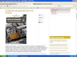 Livro «Diário do Tripulante» no Diário Digital