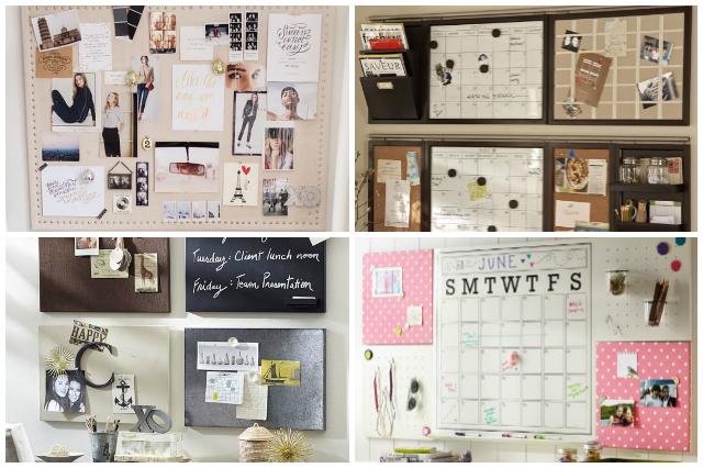 Ideas para organizar mejor nuestro espacio de trabajo for Tableros para escritorios