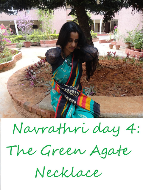 Navrathri Day 4: The Green Agate Necklace image