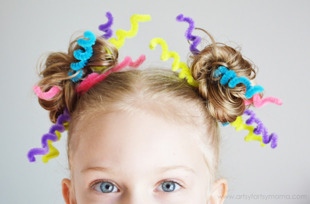 crazy hair day with lalaloopsy