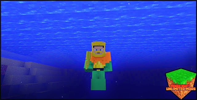 Superheroes Unlimited Mod aquaman