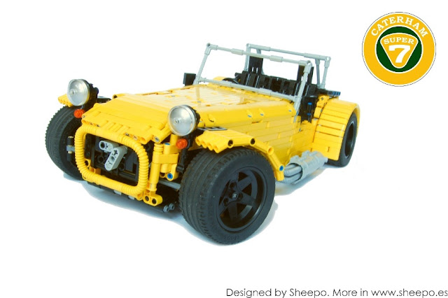 Sheepo LEGO caterham 7