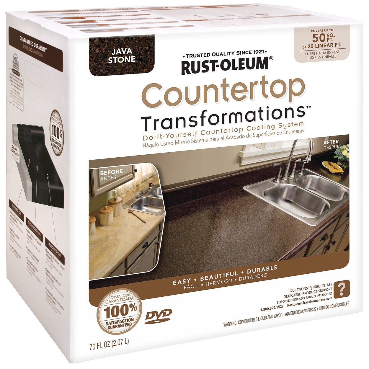 Countertop Makeover : and l projects: A Cheap Countertop Makeover