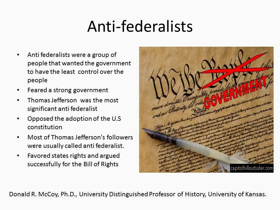 anti federalist speech example Anti-federalist hostility persisted until finally the federalists agreed to add a bill of rights guaranteeing basic natural rights, especially freedom of religion, speech, assembly, and protest in this context of de facto protestant establishment, antisemitism surfaced on both the federalist and anti-federalist sides in the debates concerning.
