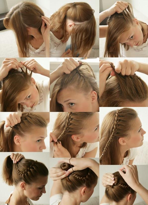 coiffure pour un degrade