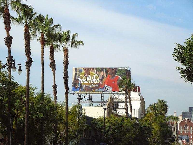 Asics LA Marathon 2014 billboard