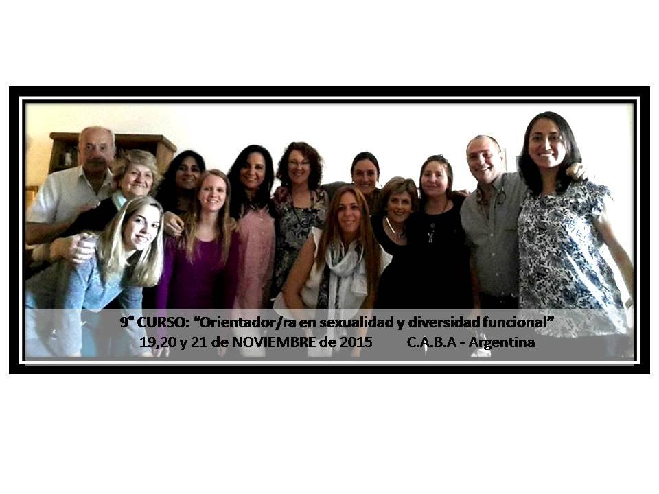9° Curso Orientador/ ra en sexualidad y diversidad funcional