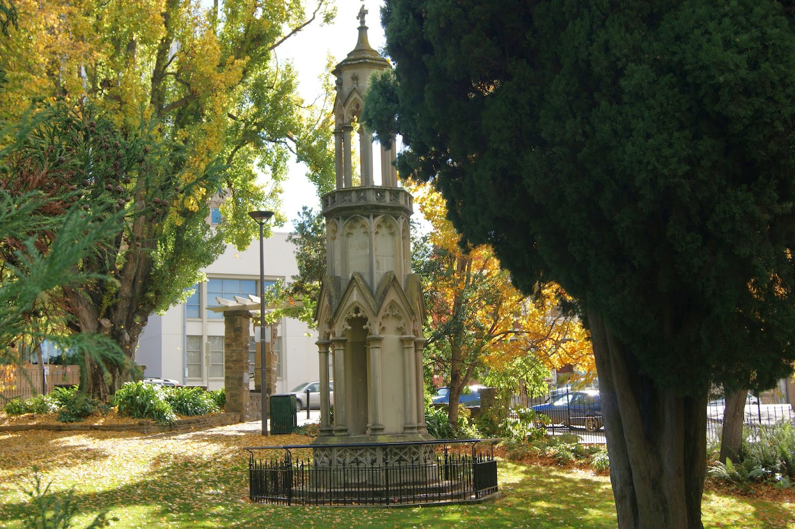 Eardley-Wilmot Tomb, St. David's Park, Hobart