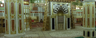 Beautiful Masjid-e-Nabvi Pictures Gallery9