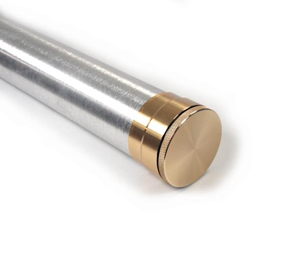 The fiberglass manifesto sunset red fiberglass fly rod kits for Fishing rod tubes