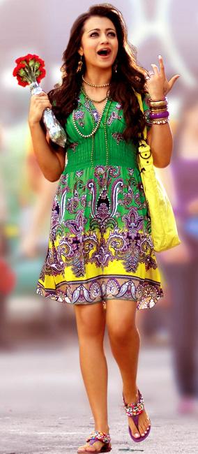 trisha krishnan pawan kalyan theenmaar movie stills pictures9