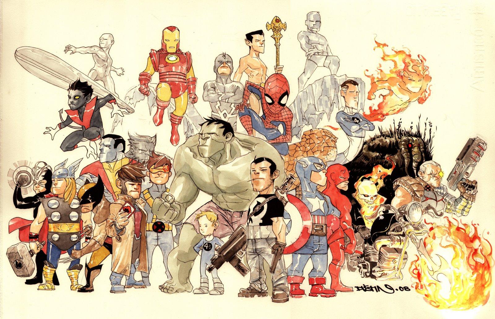 Marvel los héroes de una década difícil