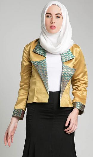 Gambar Baju Muslim Batik untuk Kerja