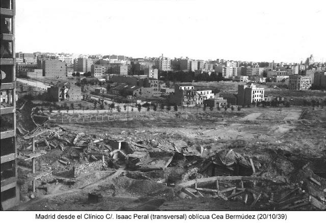 Vista de Madrid desde el Clinico, Madrid 1939