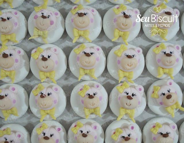 fofo, decoração, festa infantil, menina, lindo, ideia, ursinho rosa