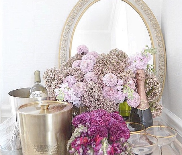 Lush Fab Glam Blogazine: Spruce Up Your Home Decor With Flowers.