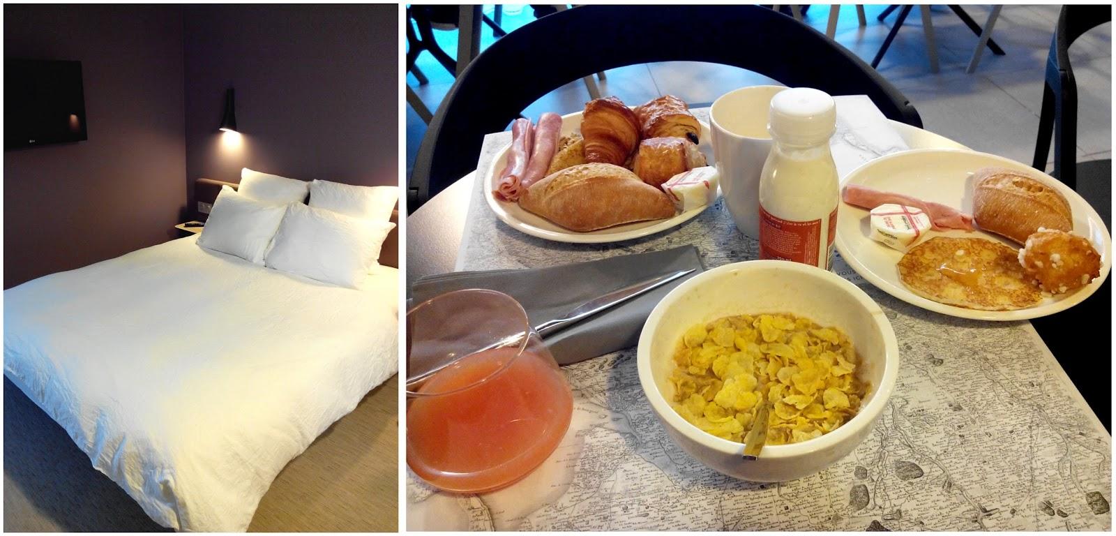 Okko hôtel, Nantes, petit déjeuner, buffet, 4 étoiles, bullelodie