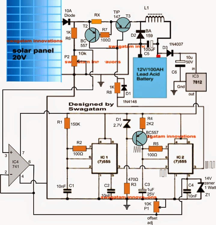 simple solar mppt circuit part 2 electronic circuit projects