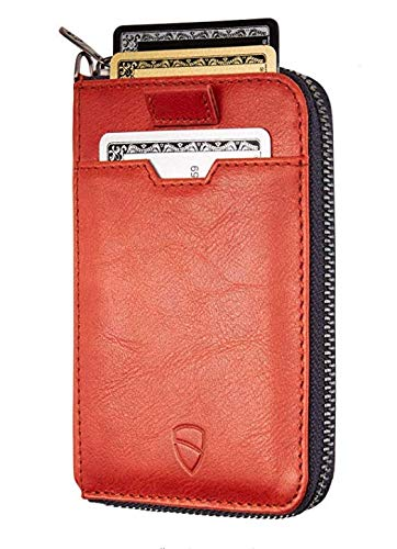 Chelsea Slim Card Sleeve Men/'s Wallet with RFID Protection by Vaultskin – Top