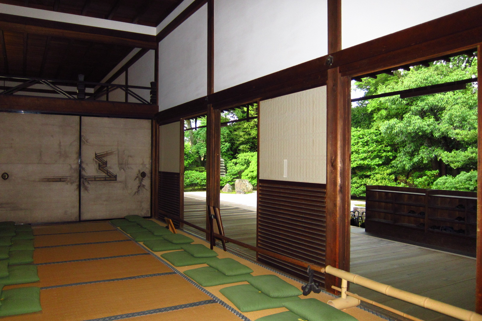Zen Meditation Room Round Of The Seasons In Japan Zen Meditation Room And Dry Garden