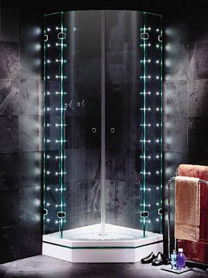 dicas decoração Chuveiro de LED