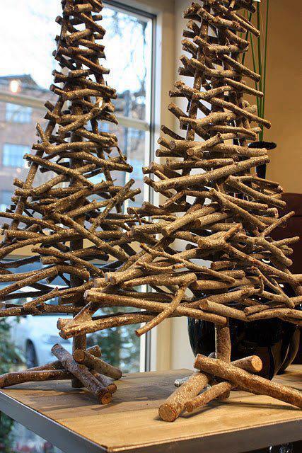 Ecomania blog decoraci n navide a otros rboles - Hacer arbol de navidad original ...