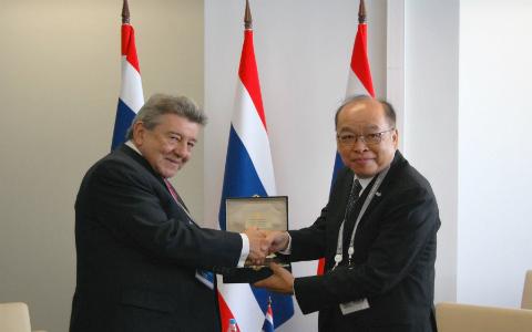Blog Institucional Ministro De Relaciones Exteriores Del Per Se Re Ne Con Sus Hom Logos De