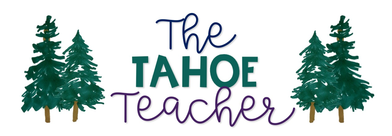 The Tahoe Teacher