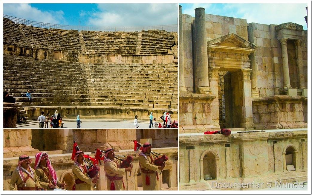 Teatro; Jordânia; Theater; Jerash, Jordan