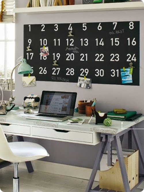 Office Calendar Wall : Searching for large wall calendar system decorology