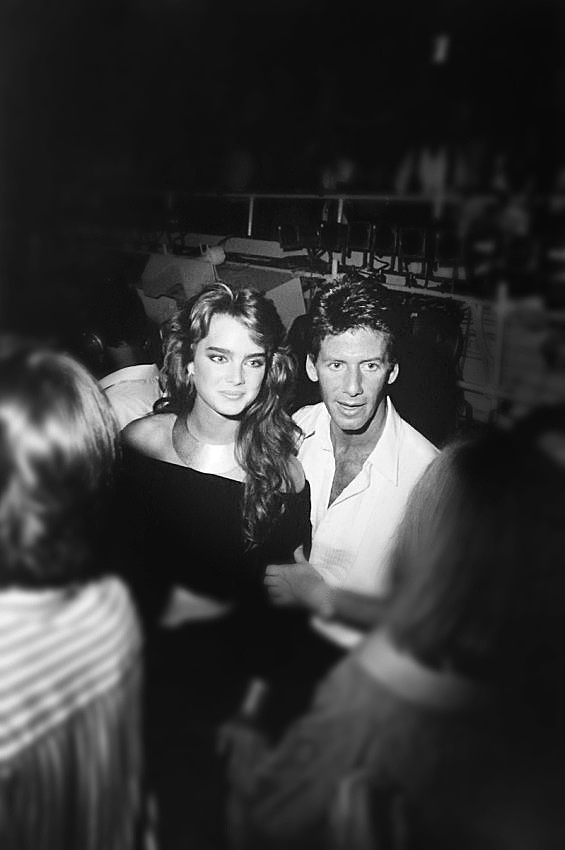 The Scene at Studio 54 Brooke Shields and Calvin Klein