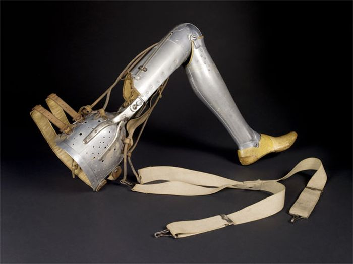Leather boot leg, 1891