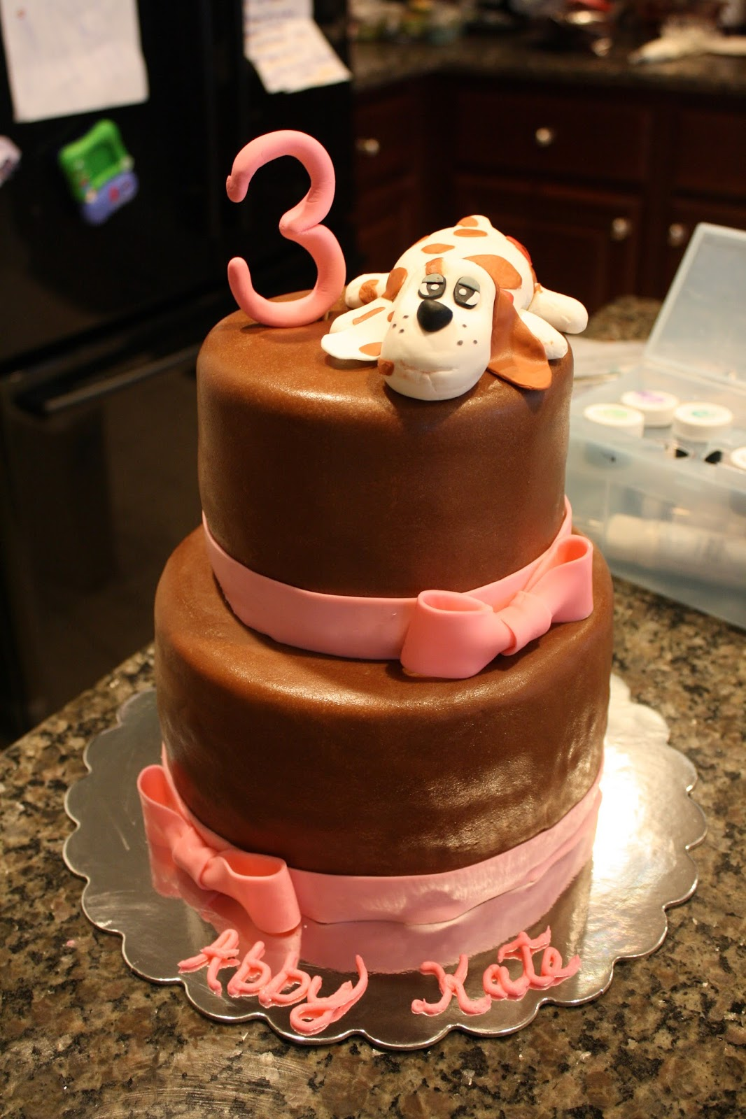 Pound Puppy Birthday Cake Life Cake Whimsy