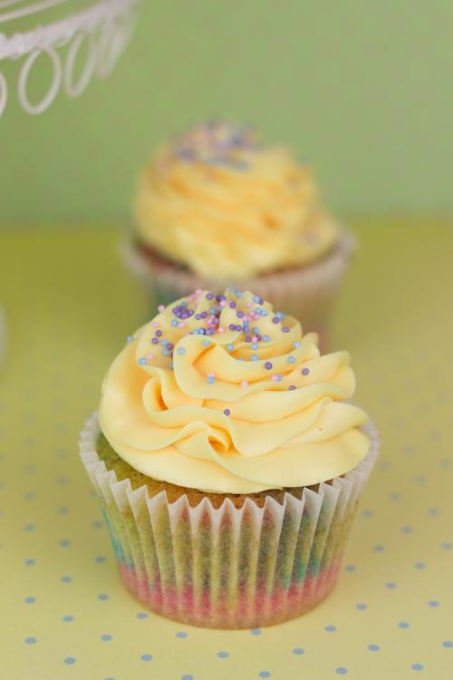Objetivo: Cupcake Perfecto.: Cupcakes arcoiris con sabor a ...