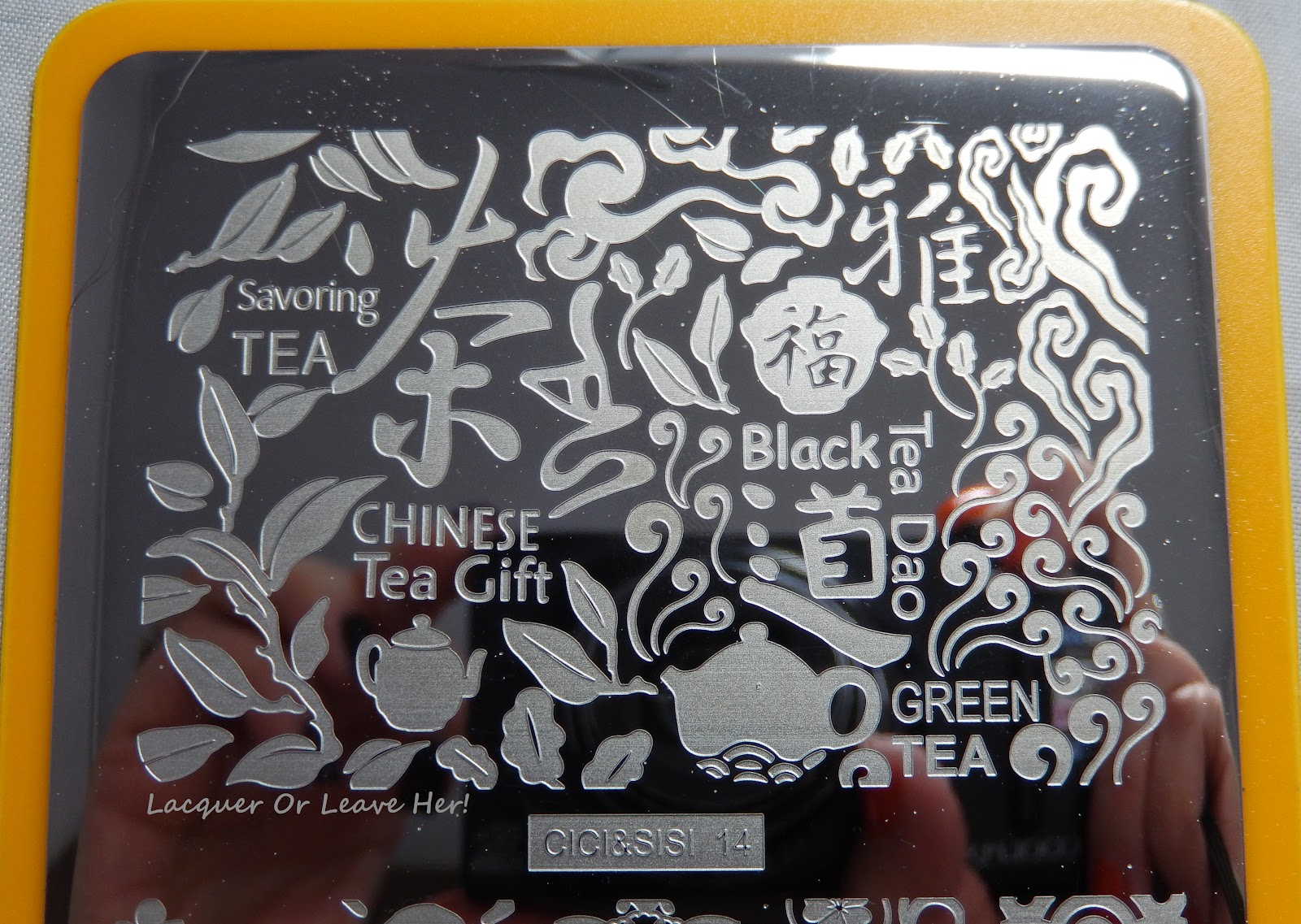 Top half of Cici&Sisi 14: A collage of tea images