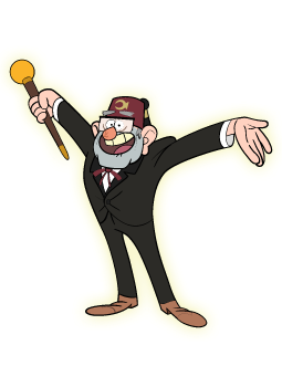 Cartoon Characters: Gravity Falls characters (PNG)