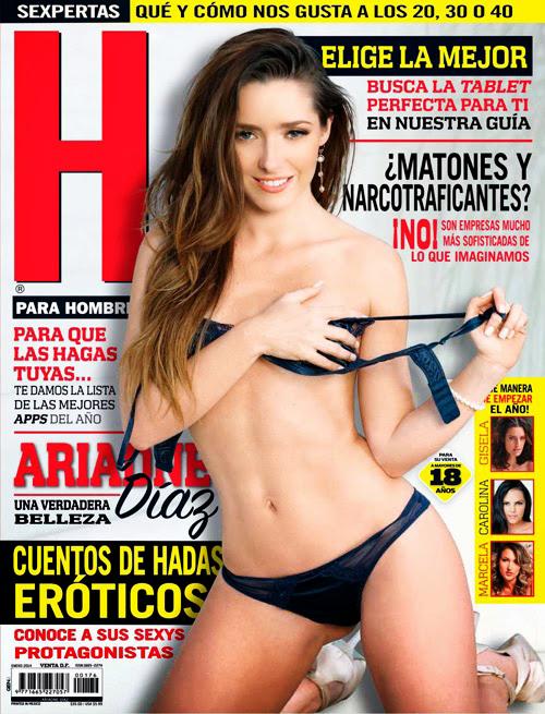 H Para Hombres Enero 2014 - Ariadne Diaz