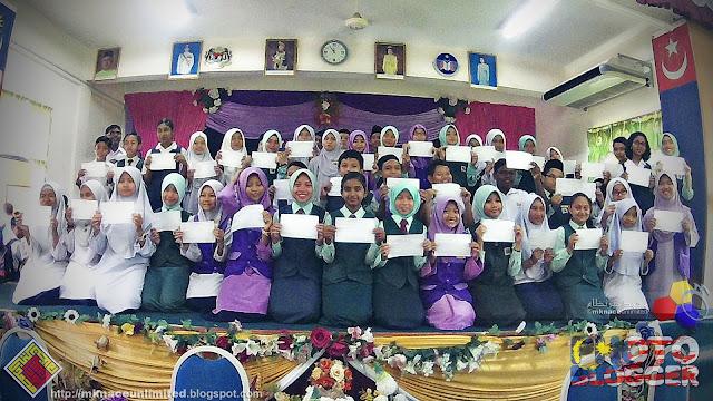 Majlis Pengumuman dan Penyerahan Keputusan UPSR 2015 SK Taman Nusa Perintis
