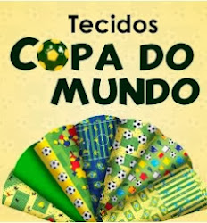 Tecidos de Patchwork - Copa do mundo