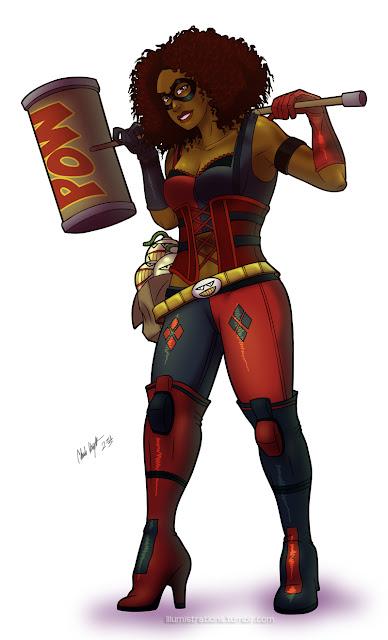 African American Harley Quinn