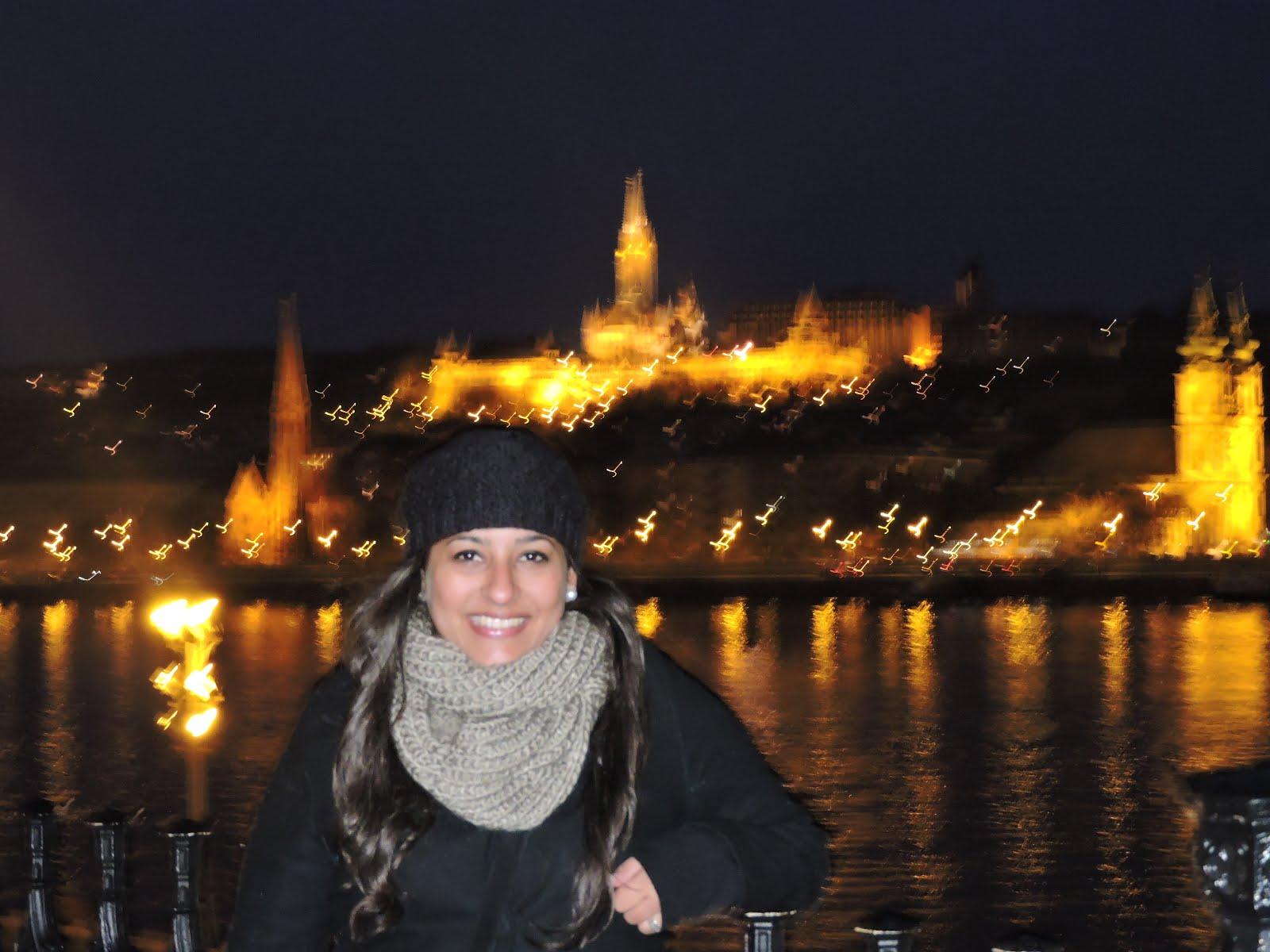 Bella e iluminada Budapest