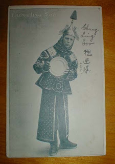 A signed Chung Ling Soo postcard
