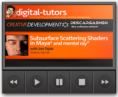 Digital-Tutor: Subsurface Scattering Shaders in Maya and Mental Ray