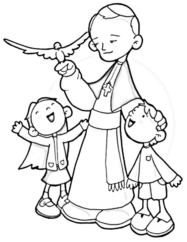 fiesta bible school coloring pages - photo#22