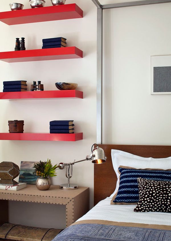 Amazing Ideas For Storage With Shelves To Save Spaces