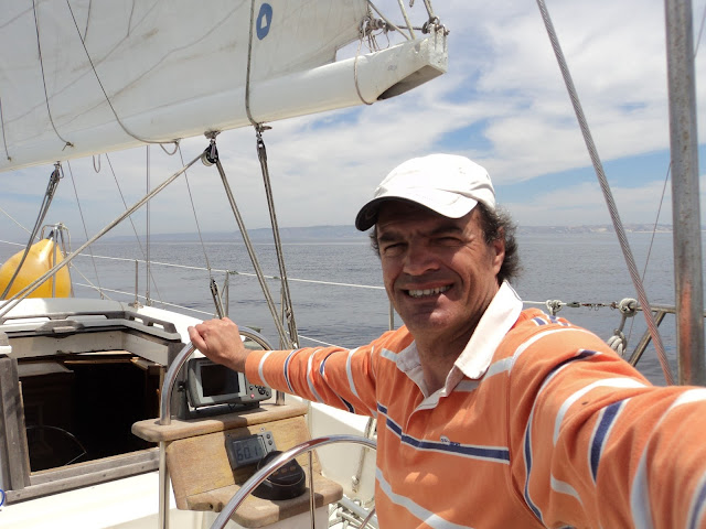 Sailing to Nazare