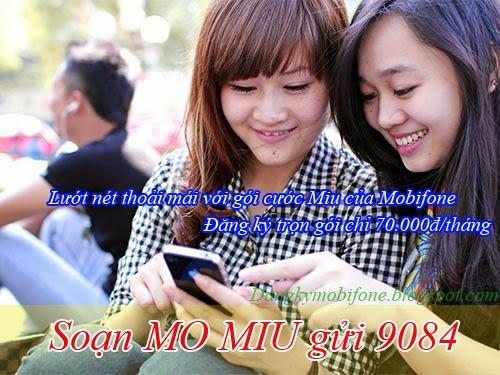 Gói cước Miu của Mobifone