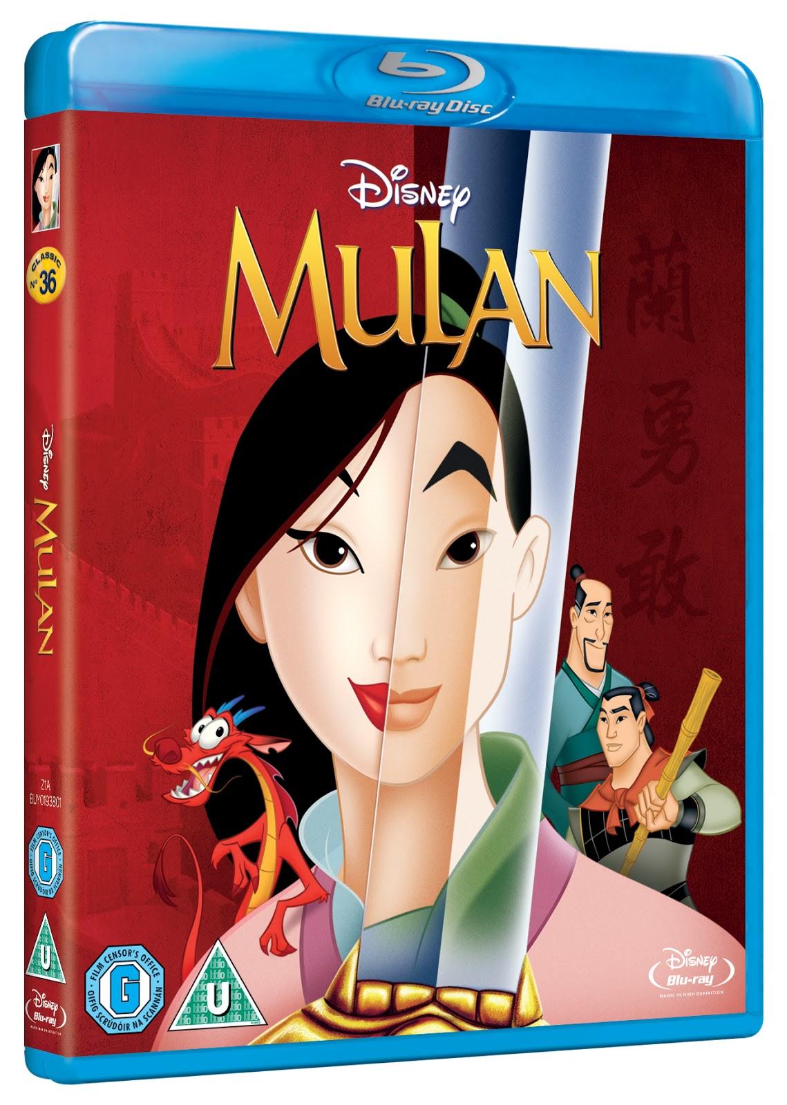 Mulan / Mulan II Blu-ray